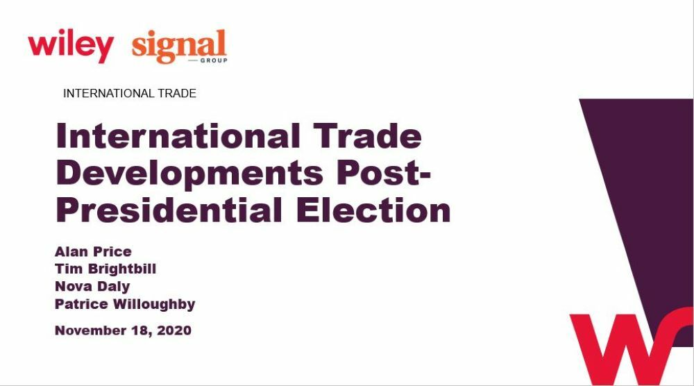 Photo of International Trade Developments Post-Presidential Election